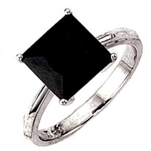 ring silberring damenring zirkonia schwarz 925 silber. Black Bedroom Furniture Sets. Home Design Ideas