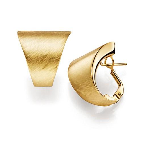 creole creolen ohrringe omegaverschluss 585 gold gelbgold. Black Bedroom Furniture Sets. Home Design Ideas