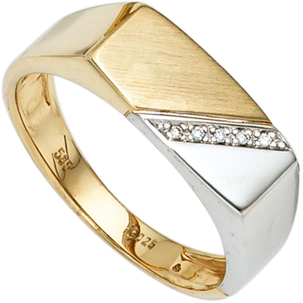 herrenring gold diamant preisvergleich die besten. Black Bedroom Furniture Sets. Home Design Ideas