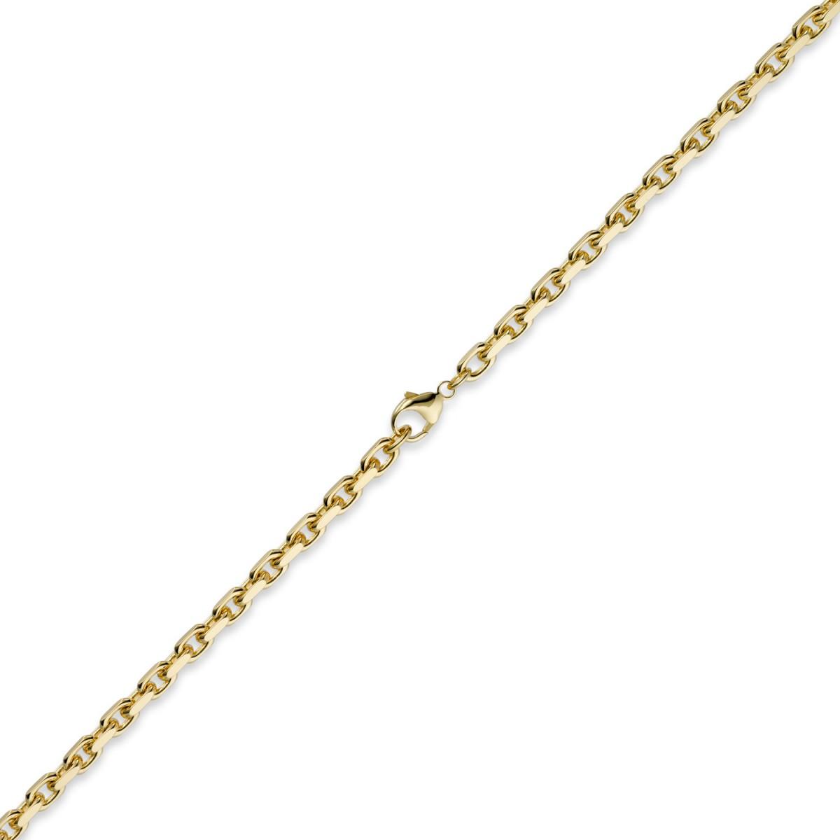 5mm kette collier ankerkette aus 585 gold gelbgold 50cm. Black Bedroom Furniture Sets. Home Design Ideas