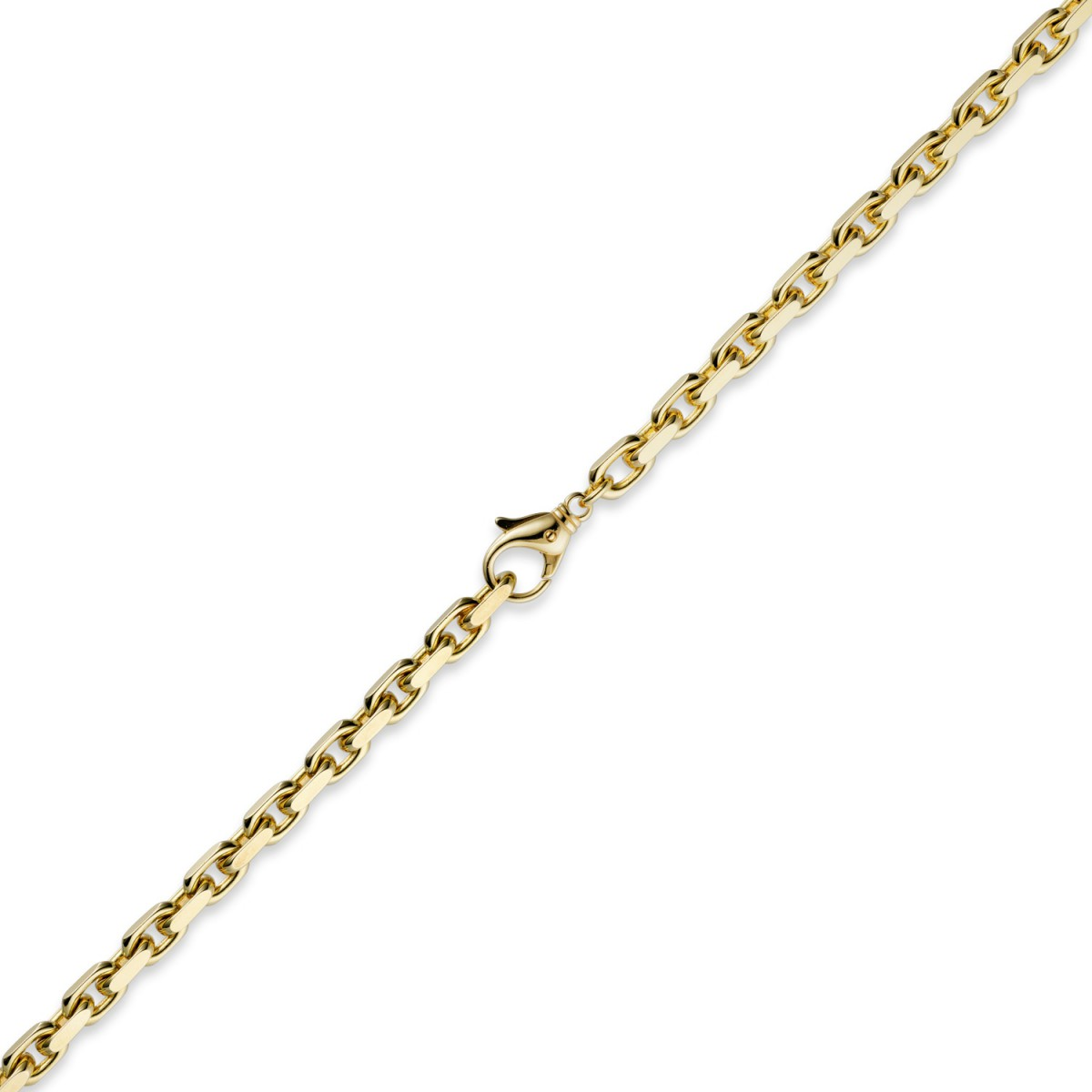 herren goldkette 60 cm