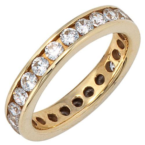 ring damen gold