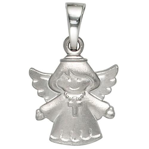 Anhänger Engel Schutzengel aus 925 Silber rhodiniert Halsschmuck