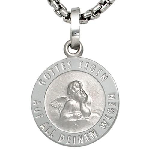 Amulett Anhänger Engel Schutzengel aus 925 Silber Sterlingsilber