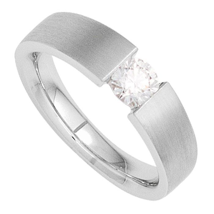 diamantring solitär weissgold